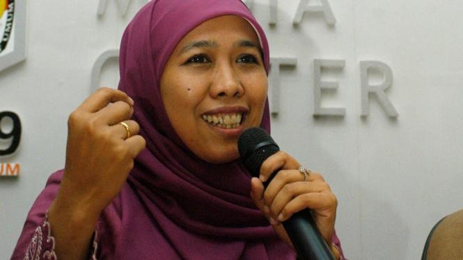 Menteri Sosial, Khofifah Indar Parawansa.