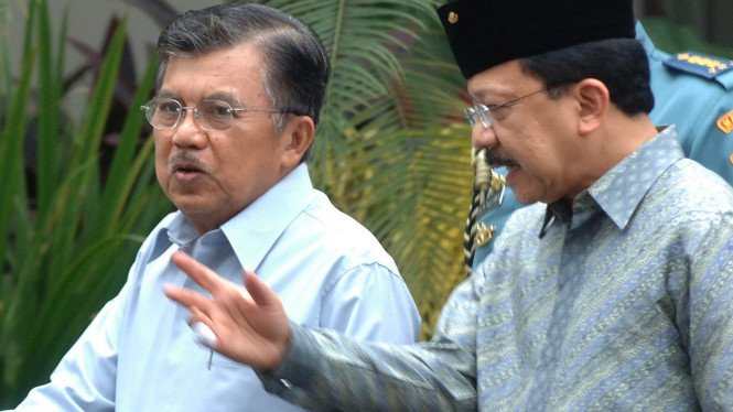 Jusuf Kalla dan Fauzi Bowo