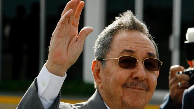 Pemimpin Kuba Raul Castro
