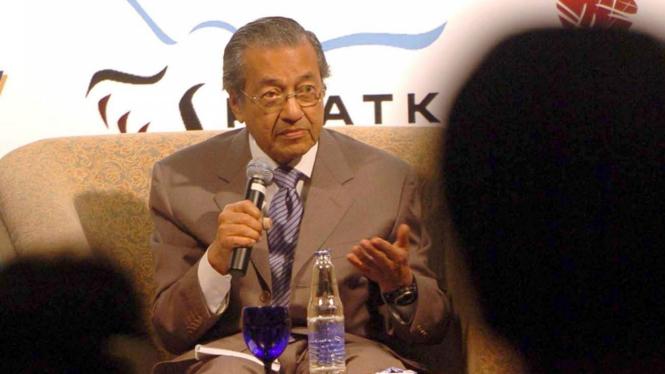 Manten PM Malaysia Mahathir Mohamad