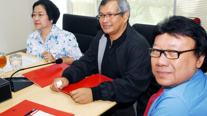 Megawati Soekarnoputri, Tjahjo Kumolo & Pramono Anung