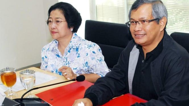 Megawati Soekarnoputri & Pramono Anung