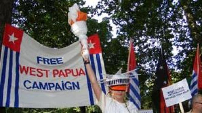 Ilustrasi/Pergerakan kampenya Papua merdeka
