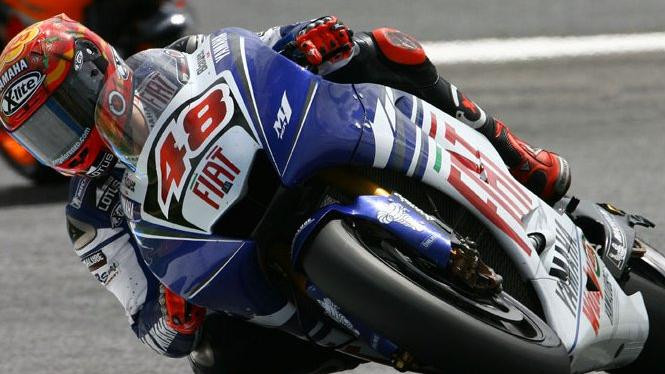 Jorge Lorenzo in actions