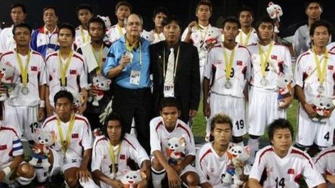 Tim nasional Myanmar meraih perak SEA Games 2007