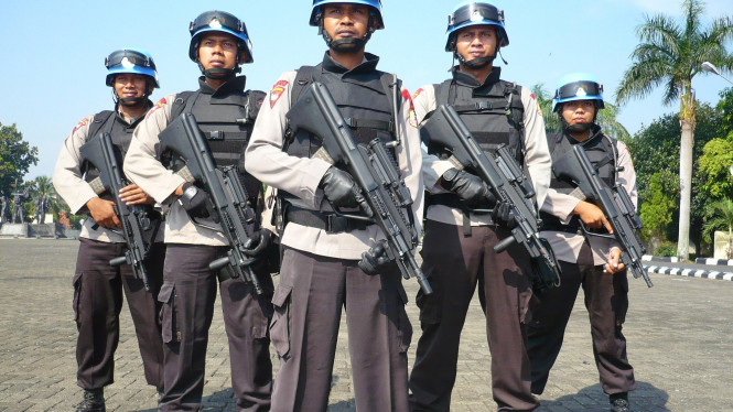 anggota polisi