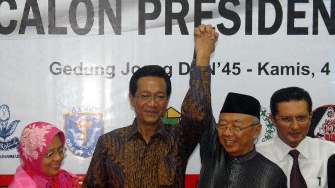 Gus Solah angkat tangan Sultan di konvensi Calon Presiden DIB