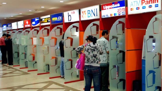 ATM Centre di pusat perbelanjaan di Jakarta