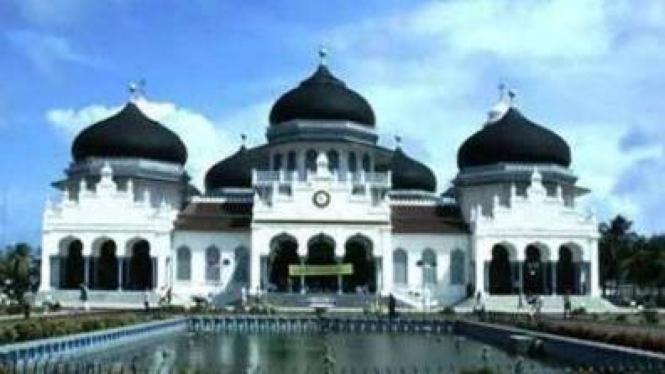 Mesjid Baitur Rachman, Aceh