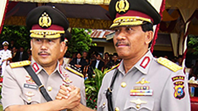 Brigjen Pol Ito Sumardi & Brigjen Pol S Damanhuri