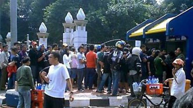 Salah satu ticket box Senayan