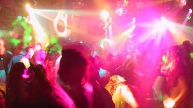 Tempat hiburan malam. Foto ilustrasi.