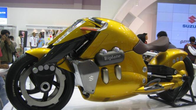 Konsep Motor Futuristik Suzuki