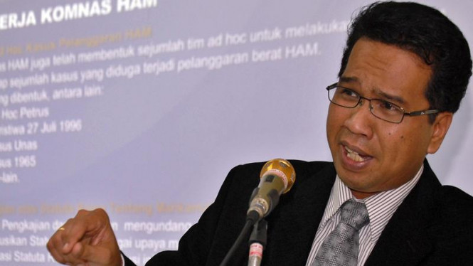 Mantan Ketua Komnas HAM Ifdhal Kasim
