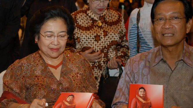 Megawati Soekarnoputri dan Sri Sultan Hamengku Buwono X