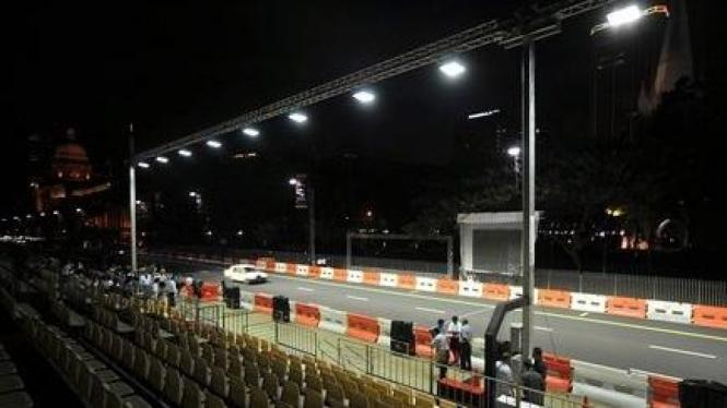 Suasana GP Singapura