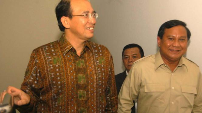 Prabowo Subianto bersama Suryadharma Ali