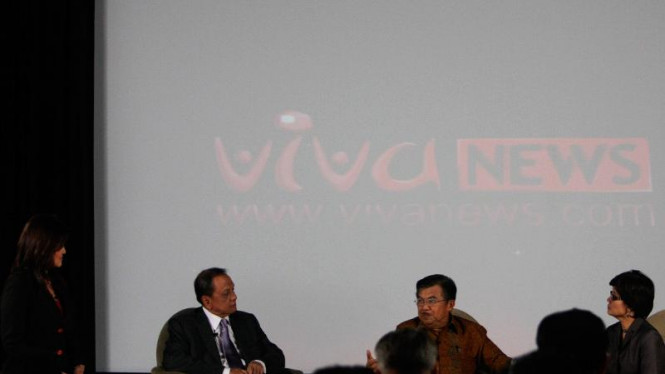 Talkshow bersama Wakil Presiden Jusuf Kalla sebelum peluncuran Vivanews.com