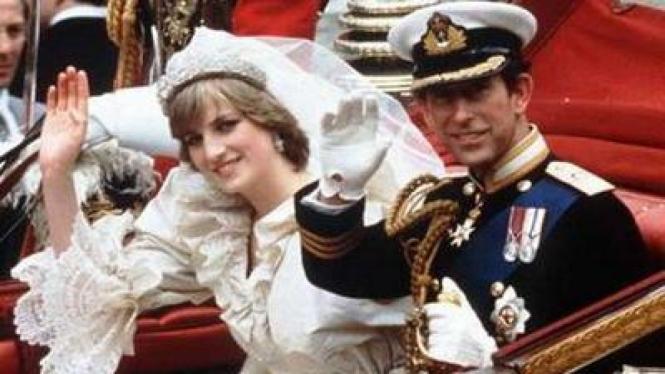 Pernikahan Pangeran Charles dan Putri Diana
