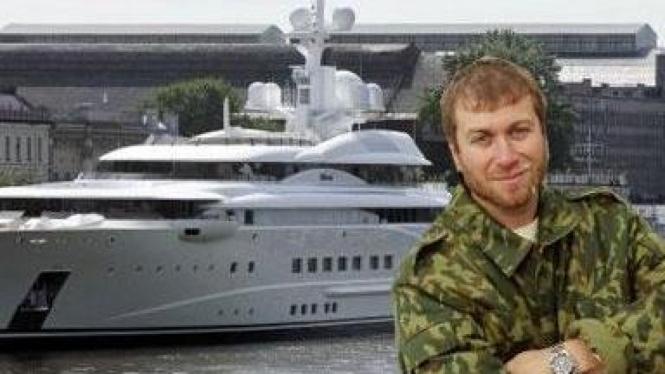Roman Abramovich & kapal pesiarnya