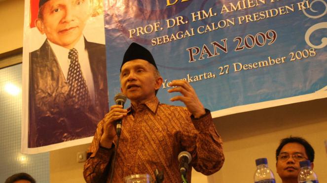 Amien Rais dideklarasikan PAN DIY sebagai calon presiden