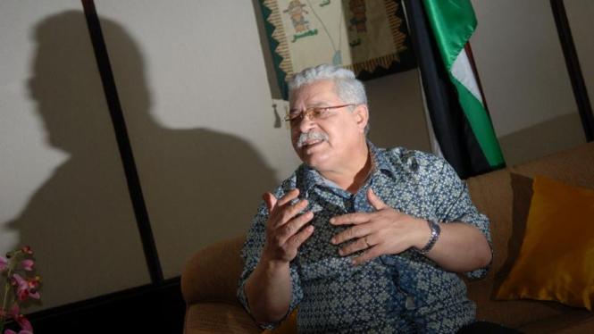 Dubes Palestina untuk Indonesia, Fariz Mehdawi