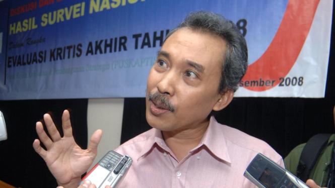 Direktur Riset Lembaga Ilmu Pengetahuan Indonesia, Syamsuddin Haris.