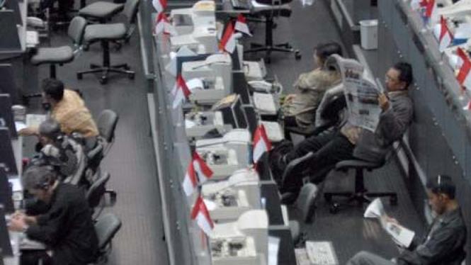 Hari Pertama Perdagangan BEI di Tahun 2009