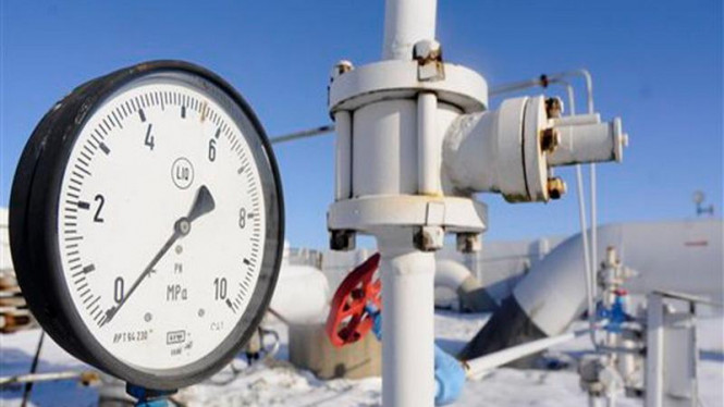Jaringan pipa gas Rusia di Ukraina