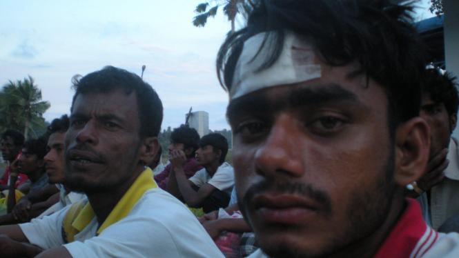 Warga Myanmar terdampar di Sabang, Aceh