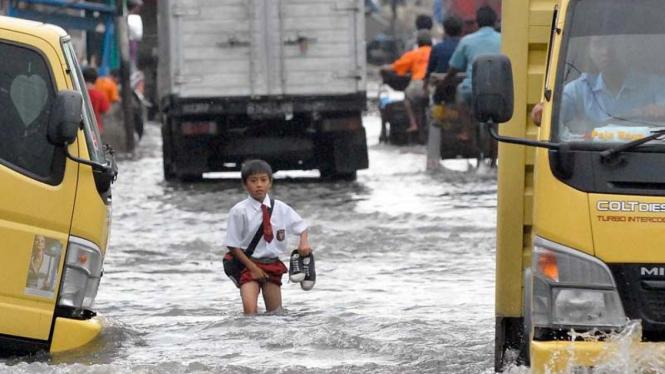 Banjir di Muara Baru