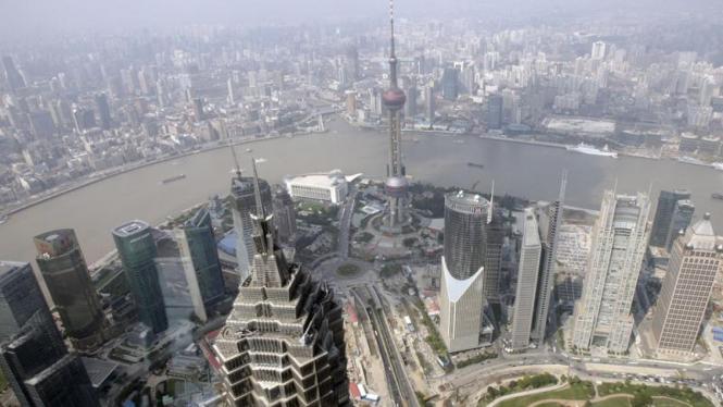 Pertumbuhan Ekonomi Cina : Shanghai