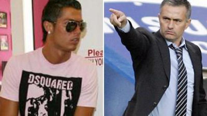 Ronaldo dan Jose Mourinho