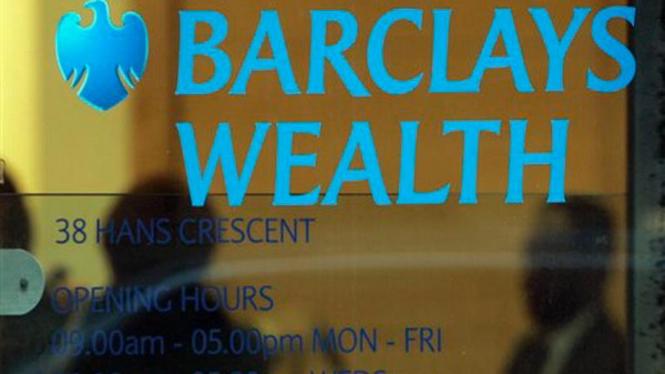 Kantor Barclays Wealth di London, Inggris