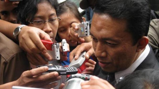 Politisi PKS Tifatul Sembiring memenuhi panggilan Polda Metro Jaya