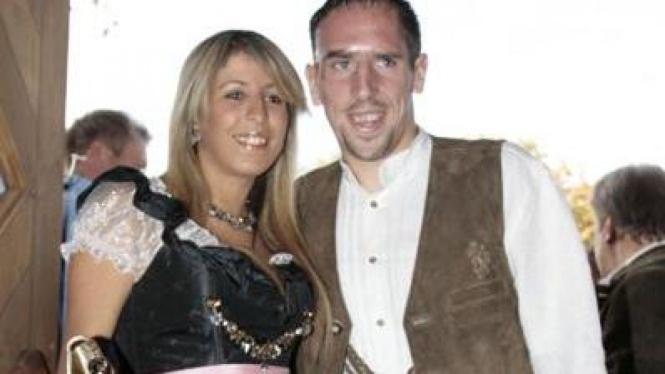 Franck Ribery & istrinya, Wahiba