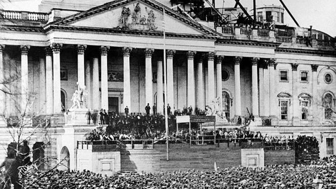 Pelantikan Presiden Abraham Lincoln