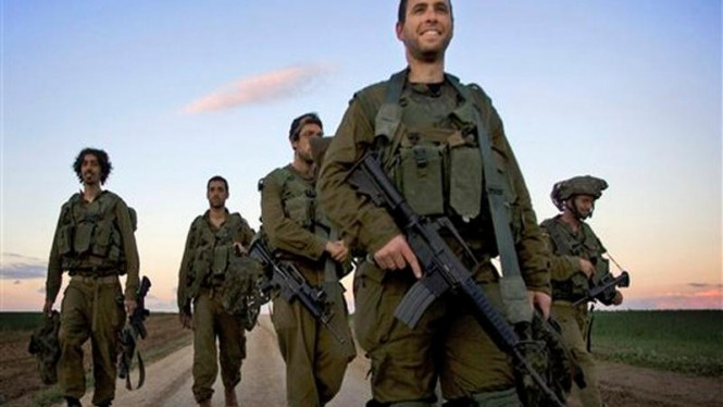 Tentara Israel ditarik dari Jalur Gaza