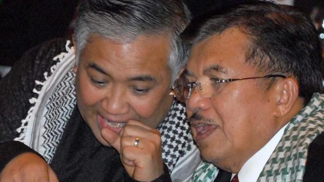 Din Syamsudin dan Wapres Jusuf Kalla
