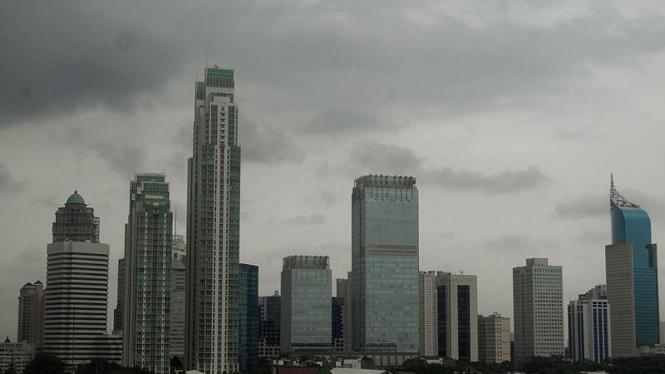 Gedung Pencakar Langit Jakarta