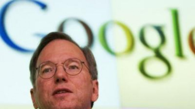 Eric Schmidt, Chief Executive Google