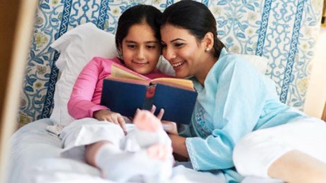 Ajari anak gemar membaca