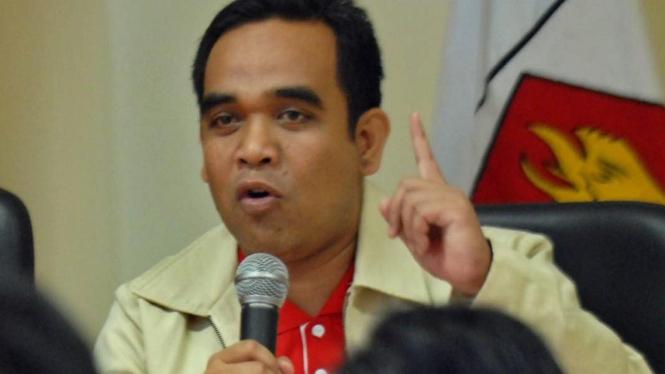 Sekretaris Jenderal Partai Gerindra, Ahmad Muzani