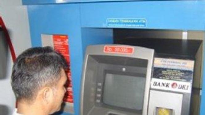 ATM Bank DKI.