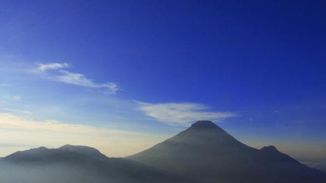 Panorama Alam di Pegunungan Dieng Wonosobo Jawa Tengah