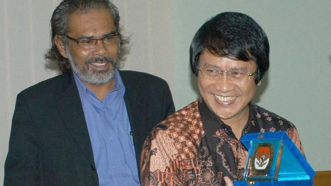 Ketua Umum Lembaga Perlindungan Anak Indonesia, Seto Mulyadi (kanan).