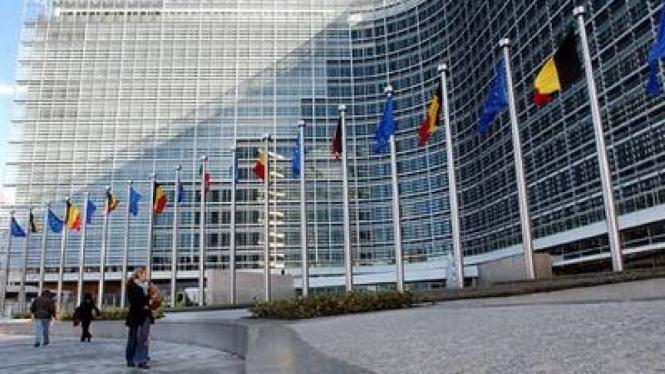 Gedung Uni Eropa di Brussels
