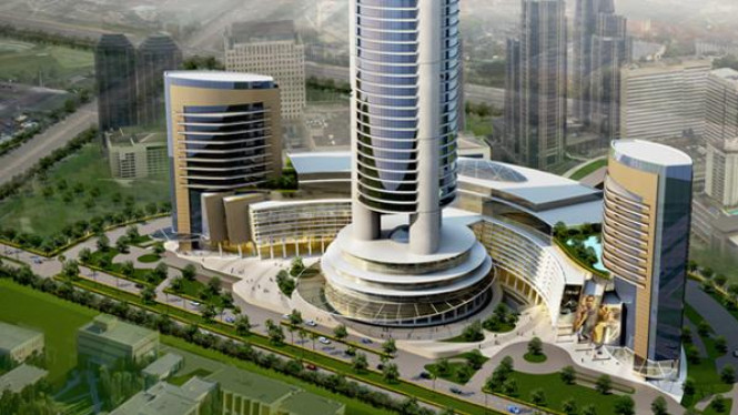 Menara Jakarta di kawasan Kemayoran Jakarta Pusat
