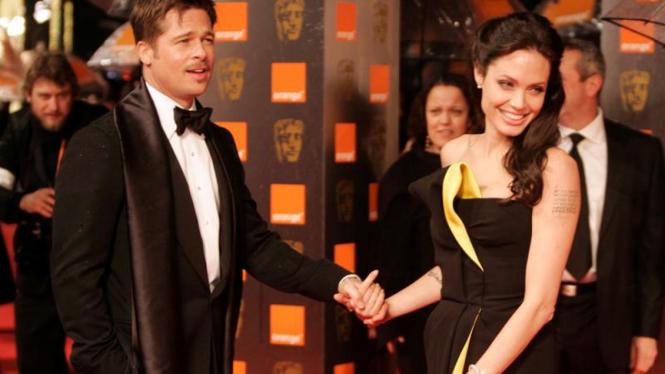 BAFTA: Brad Pitt dan Angelina Jolie