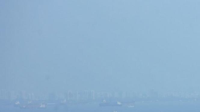 Kapal Tanker di Selat Malaka